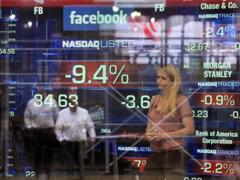 Facebook-Aktie ist weiterhin auf Talfahrt.