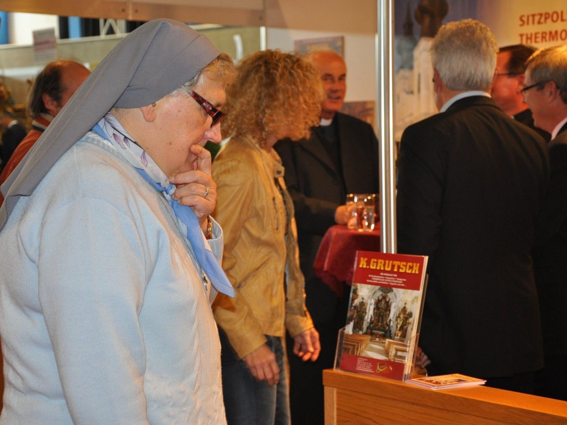Die GLORIA spricht Fachpublikum sowie christlich interessierte Besucher an.