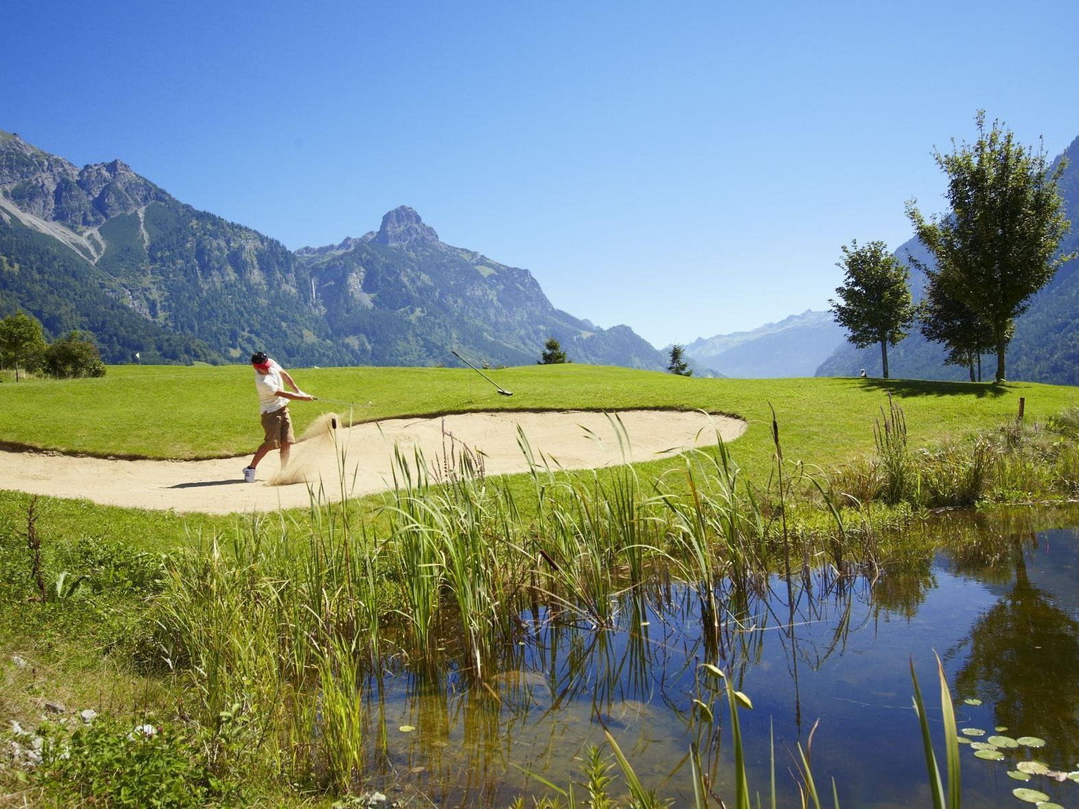 Das 3. Herrenturnier findet am Freitag, 25. Mai, am Golfplatz Bludenz-Braz statt.