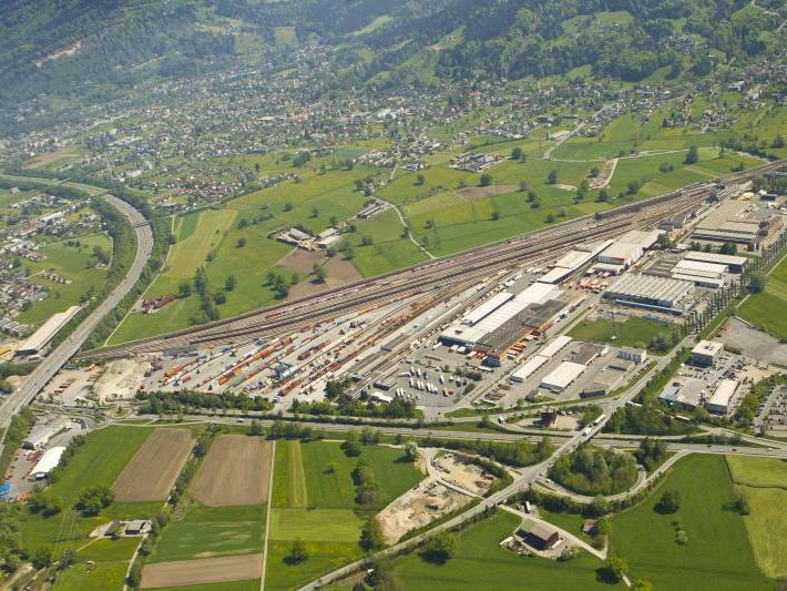 Güterbahnhof in Wolfurt platzt aus allen Nähten.