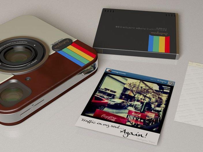 Instagram-Kompaktkamera: Touchscreen-Gerät mit 3D-Filtern, Drucker und App-Support
