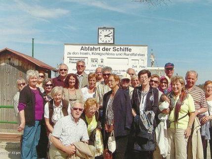 Jubiläumsausflug des Jahrgangs 1937 Groß Feldkirch