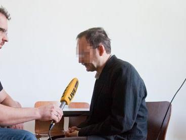Der Hauptangeklagte Jürgen H. im Interview mit VOL.AT-Reporter Sascha Schmidt.