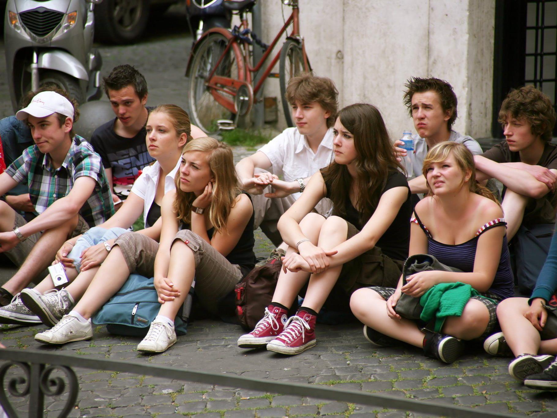 Jugendliche sollen in Europa verstärkt zusammenarbeiten.