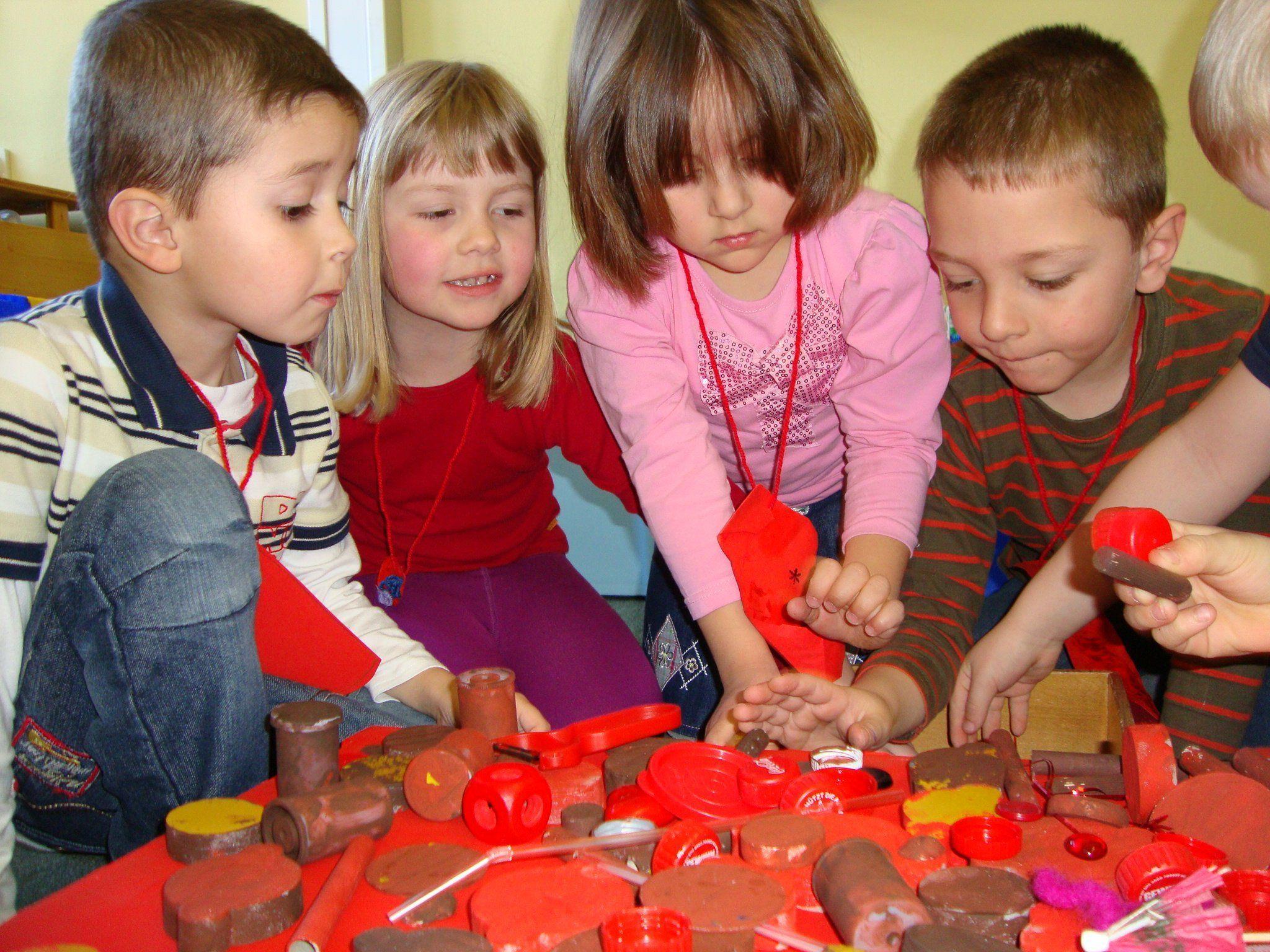 Die Kinder im Kindergarten St. Peter waren sehr kreativ.