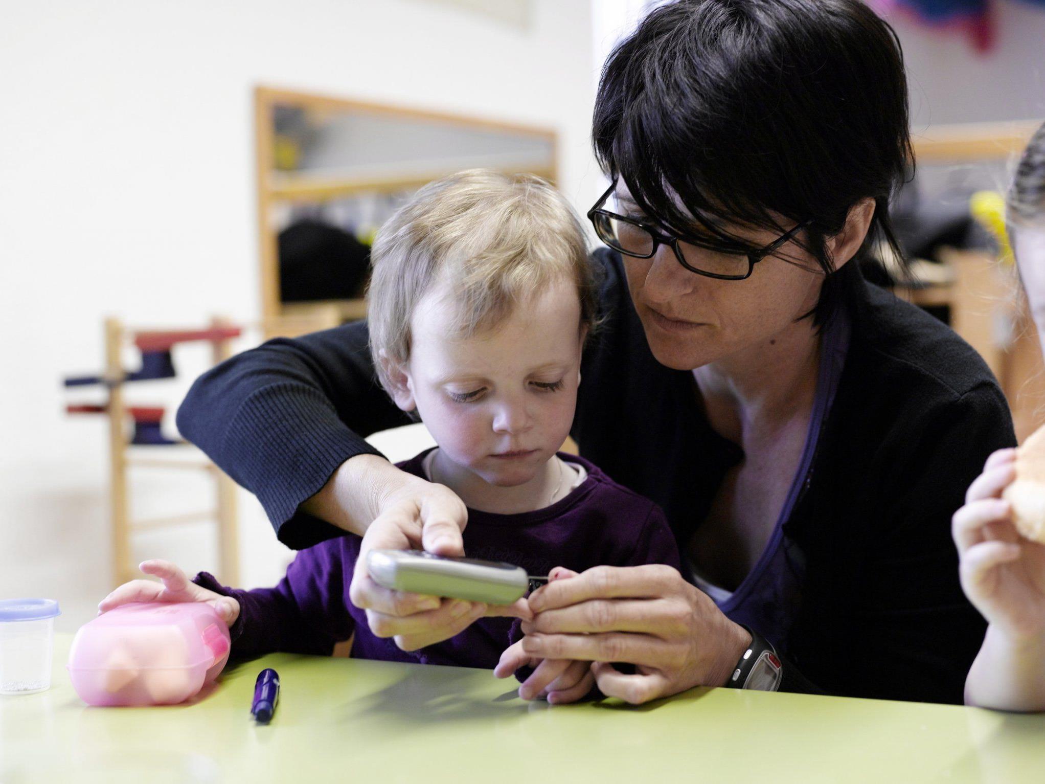 Die Mobile Krankenpflege bietet bestmögliche Betreuung für kranke Kinder.