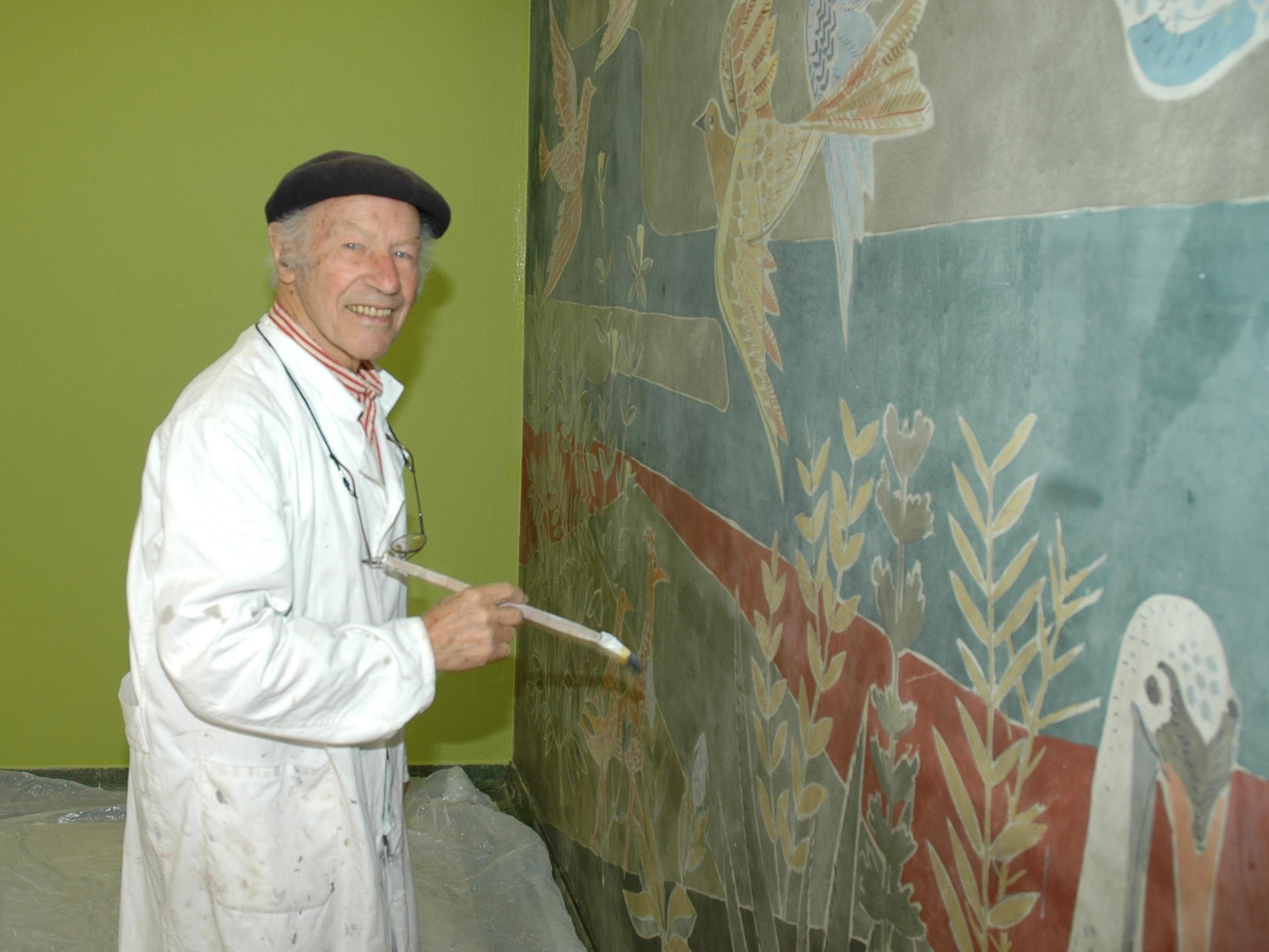 Leopold Fetz war einer der wichtigsten Künstler Vorarlbergs.
