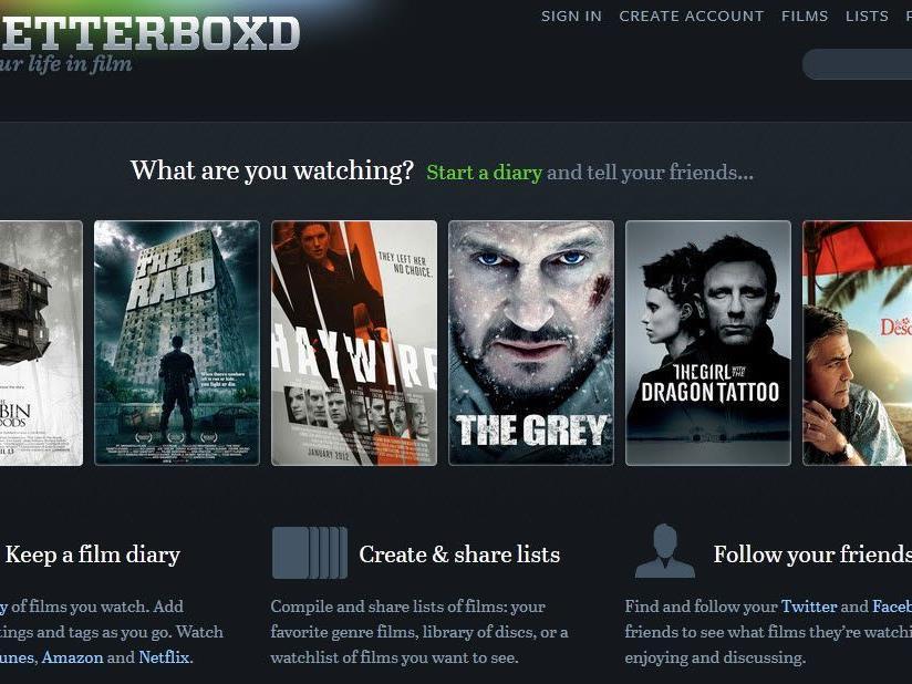 Online-Community lockt Cineasten mit umfangreichen Features