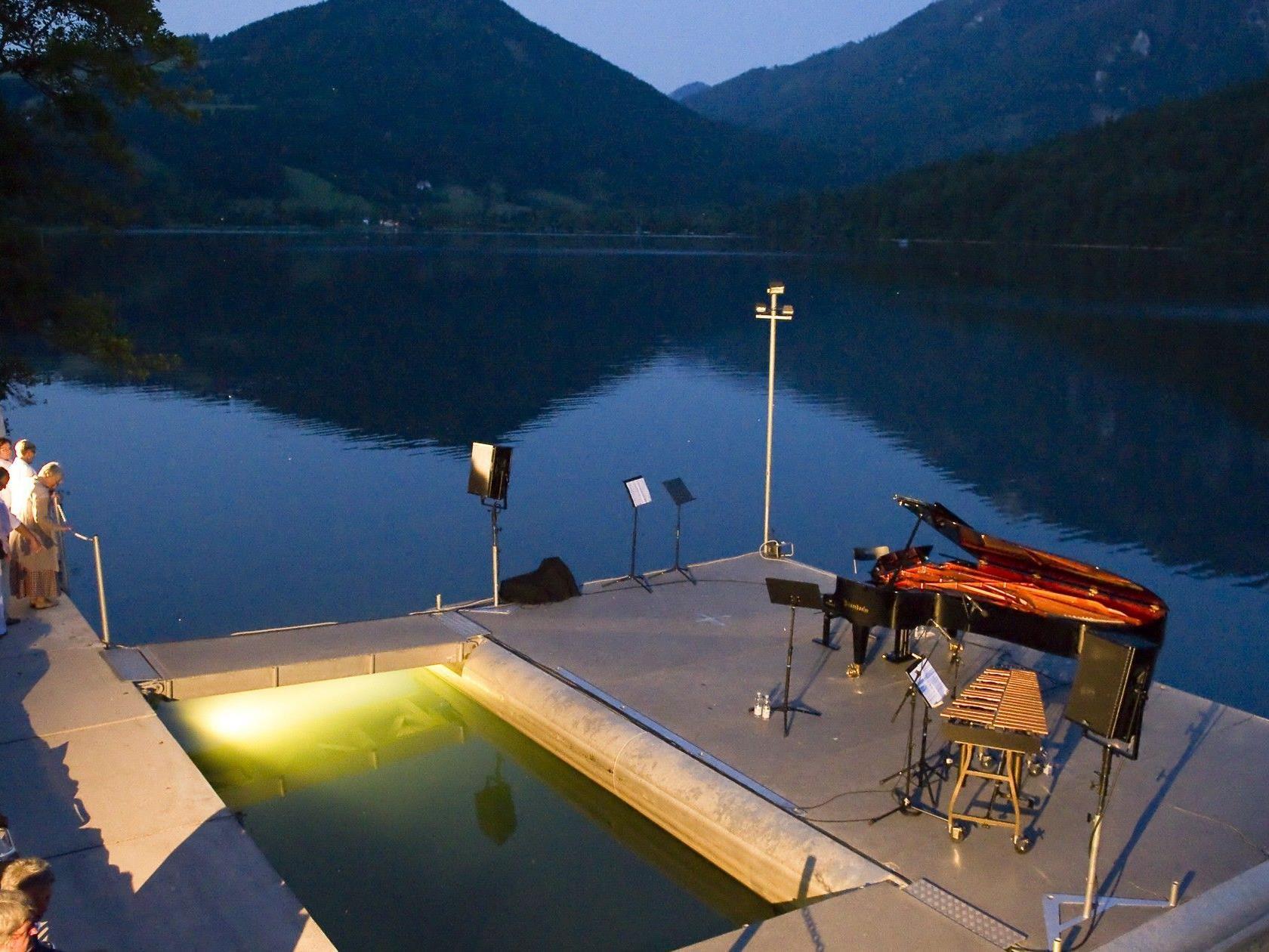 Im Juli startet das Festival Wellenklaenge in Lunz am See.