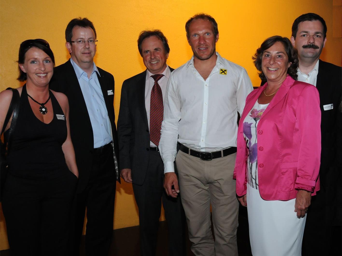 MCV-Vorstand mit Hermann Maier
