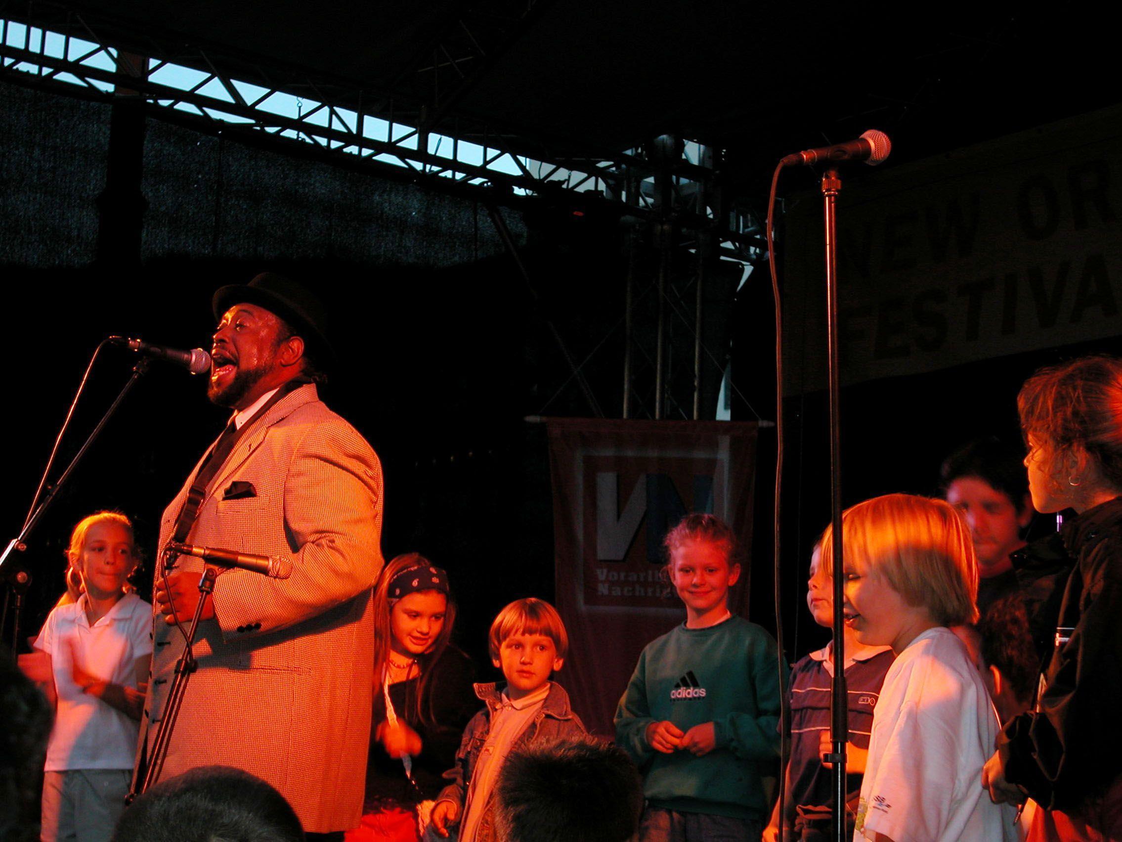Chucky C. Elam ist der heurige Stragast beim Bregenzer New Orleans Festival.