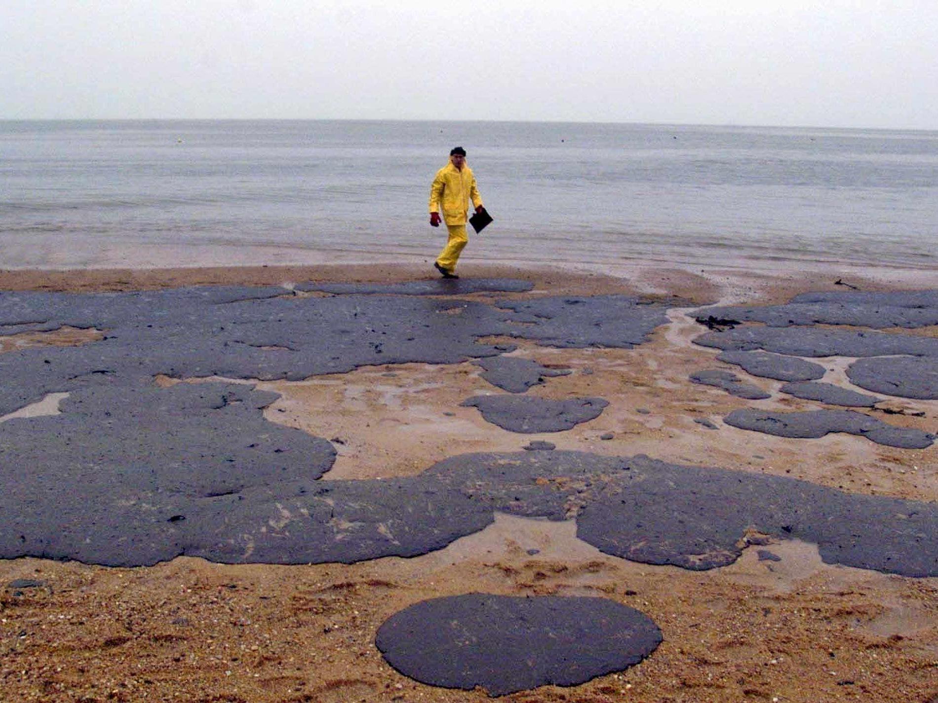 37.000 Tonnen Öl verpesteten 1999 die bretonische Küste