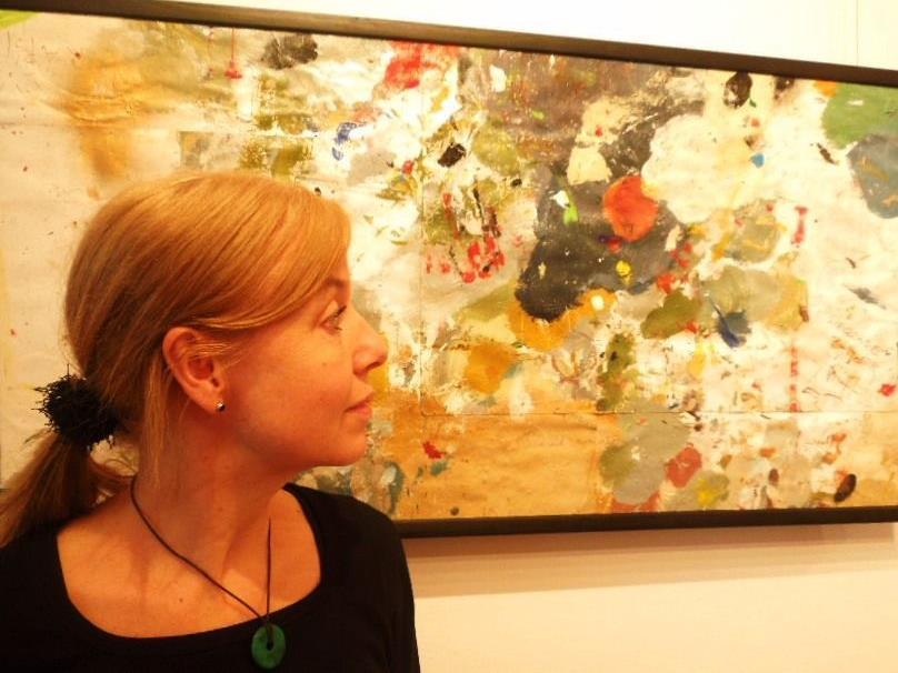 Feldkircher Künstlerin May-Britt Nyberg Chromy zeigt ihre Werke in Ungarn.