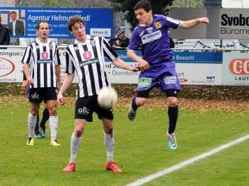 Die Bludenzer bezwangen auch den FC Wolfurt