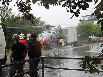 74 Personen kenterten im Sommer 2010 auf der Bregenzerach.