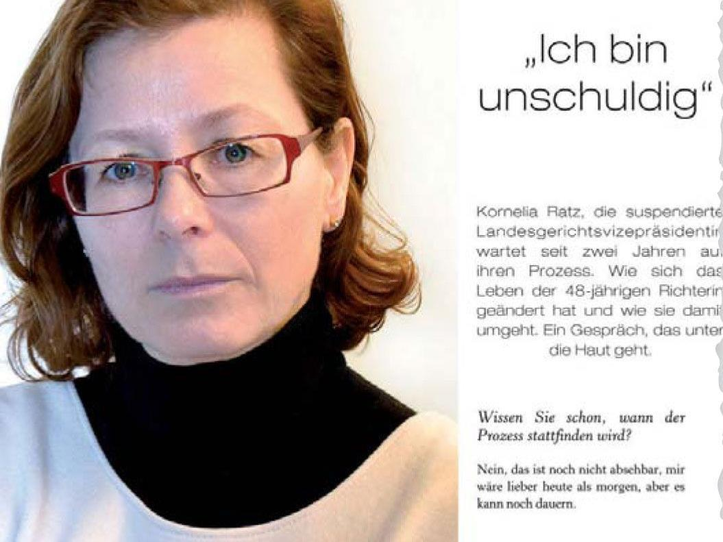"""Ratz-Interview im Magazin """"Die Vorarlbergerin"""": """"Es schockiert mich, wie schnell man wehrlos werden kann."""""""