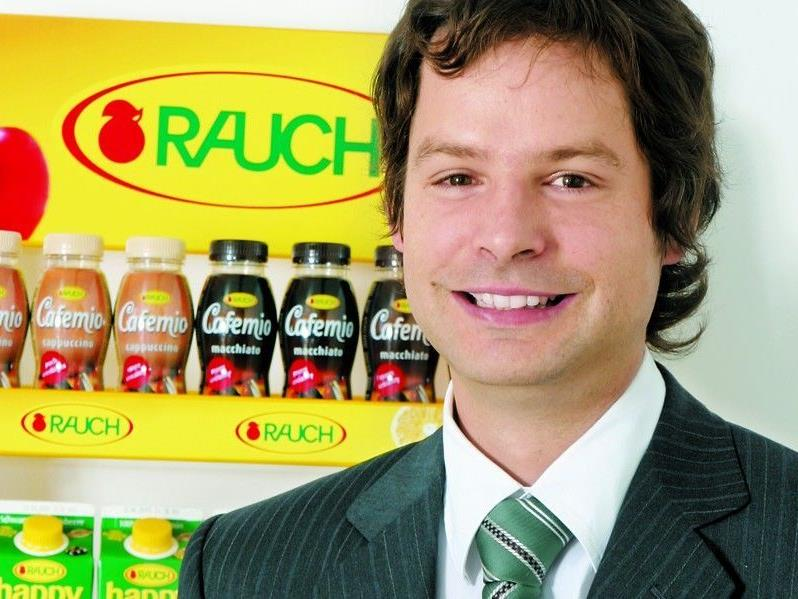 Rauch-Unternehmenssprecher Daniel Wüstner.