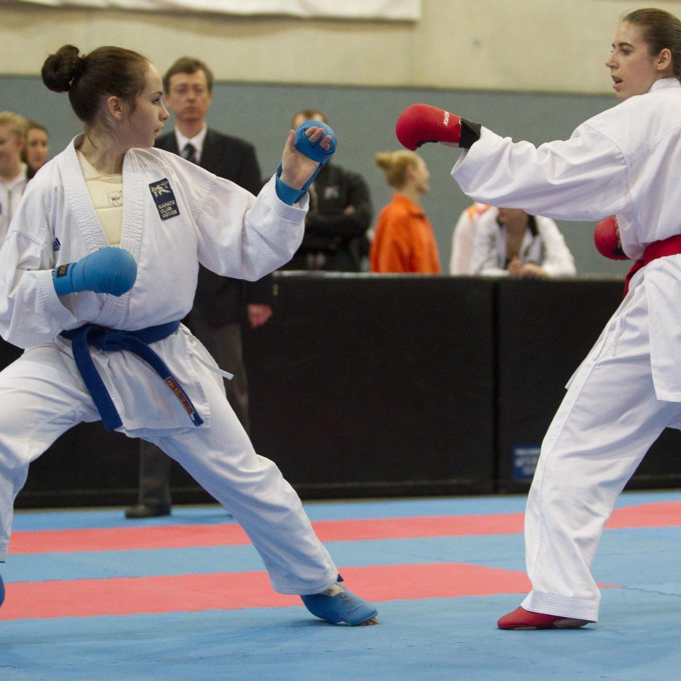 Sieben Goldene holten die Shotokan-Sportler bei der ÖM.