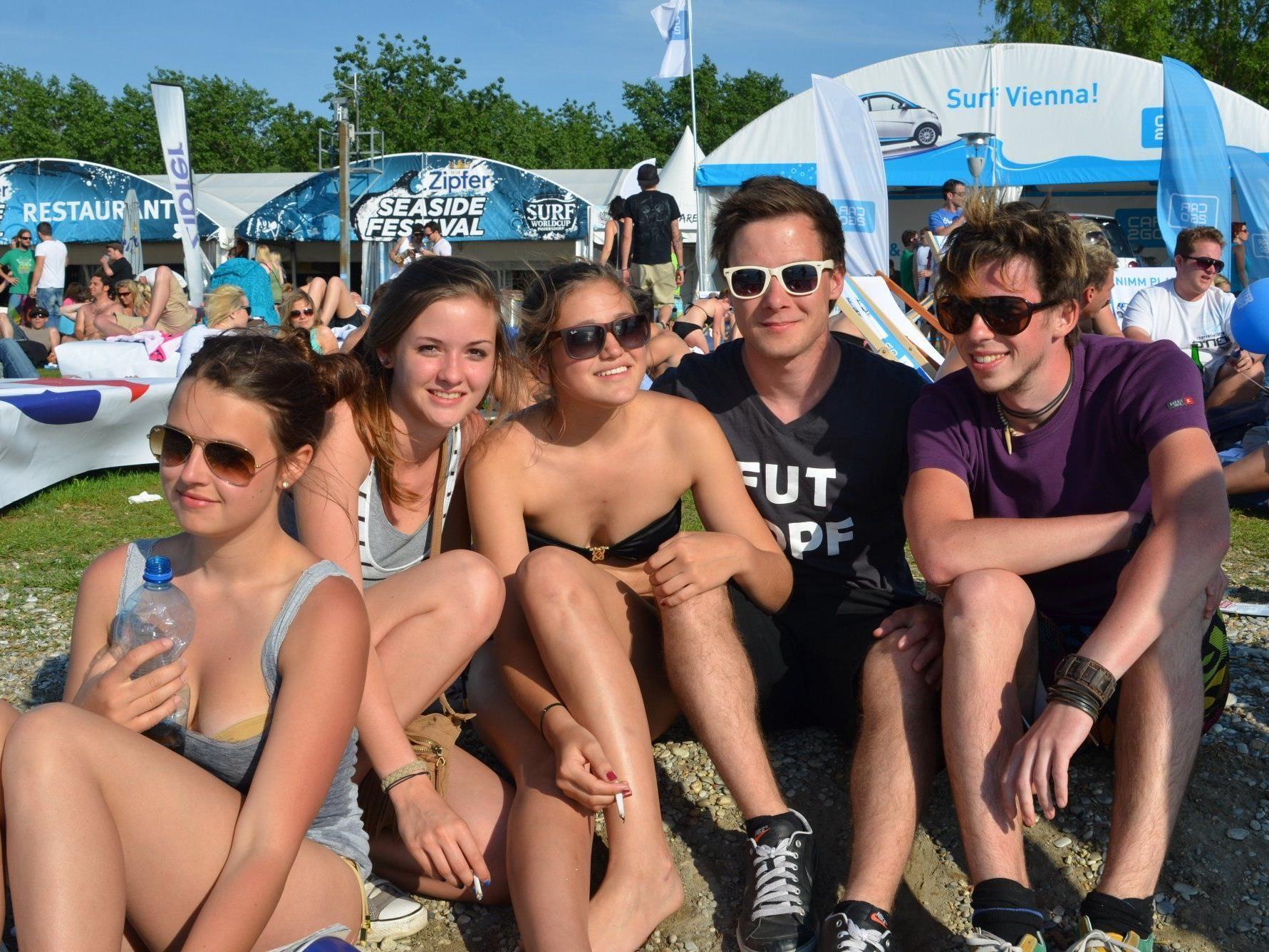Super Stimmung gab es am Zipfer Seaside Festival.