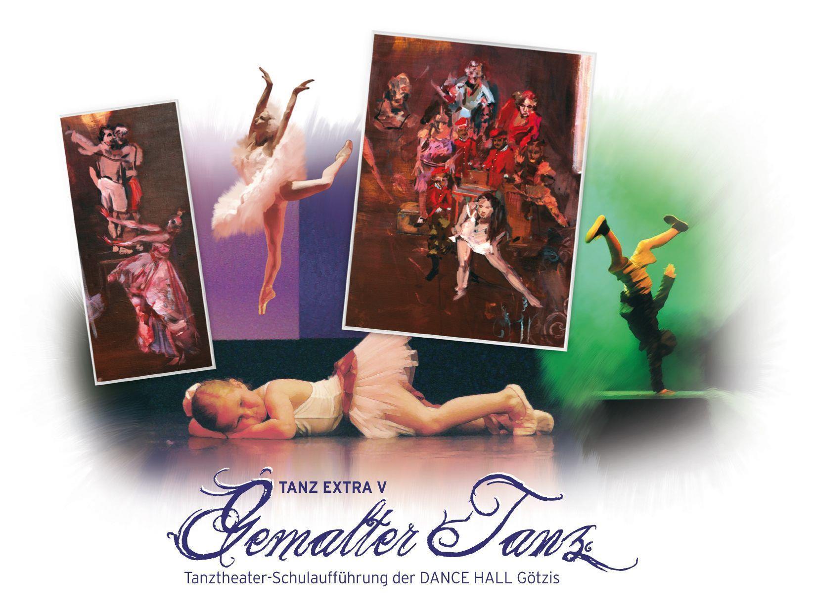 Tanz Extra V: Tanzperformance in Zusammenarbeit mit der Götzner Künstlerin Johanna Berchtold