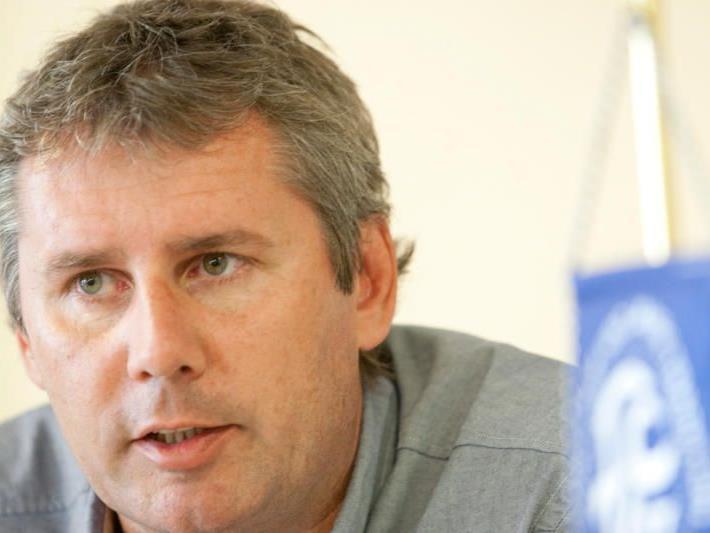 FC Lustenau-Präsident Dieter Sperger plant mit dem Klub für die Erste Liga.