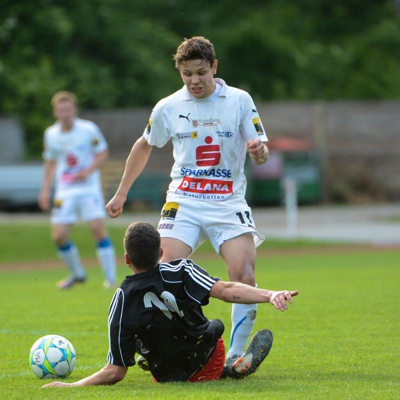Feldkirch gewinnt Sechspunktespiel gegen Simon Installationen FC Mäder.
