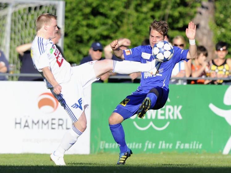 Youngster Julian Lipburger spielte mehr als eine Stunde lang im Hard-Dress.