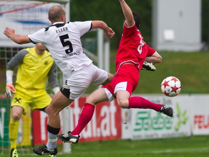 """Johannes """"Hirschi"""" Hirschbühl fand gute Möglichkeiten vor, aber FC Dornbirn verlor gegen Wattens."""