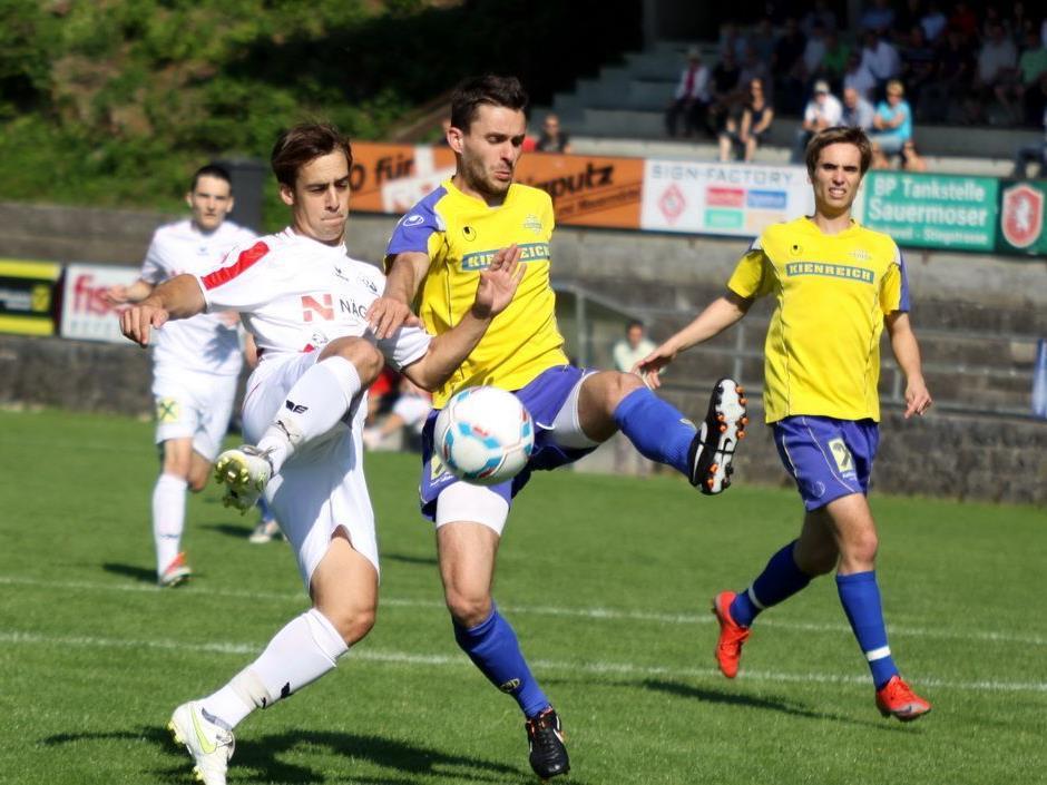 Rankweil kassierte in der Nachspielzeit zwei Tore und verlor gegen Wolfurt.