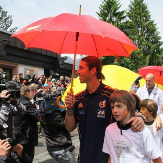 Welt- und Europameister Spanien gastiert sieben Tage im wunderschönen Montafon.