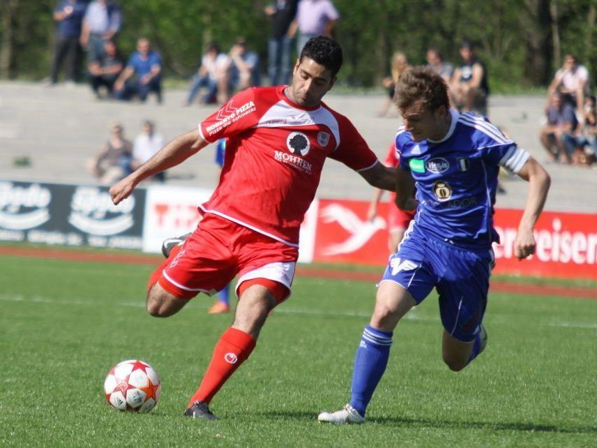 Direnc Borihan gewann mit Dornbirn gegen Kufstein mit 3:2.
