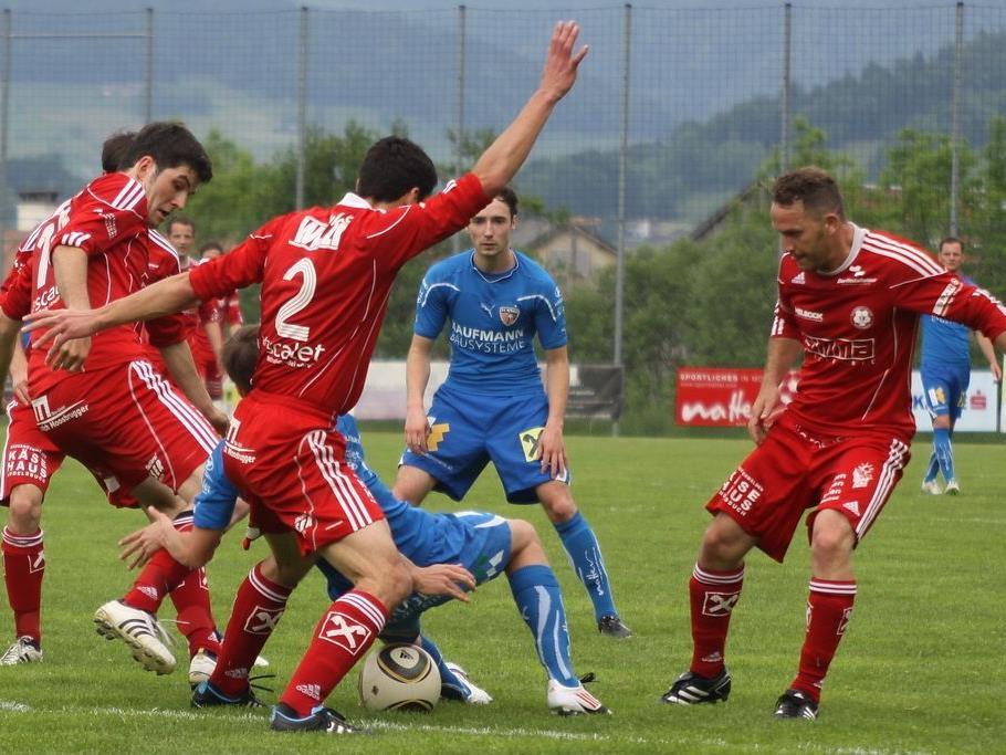 FC Andelsbuch kommt dem Ziel Meistertitel ein großes Stück näher