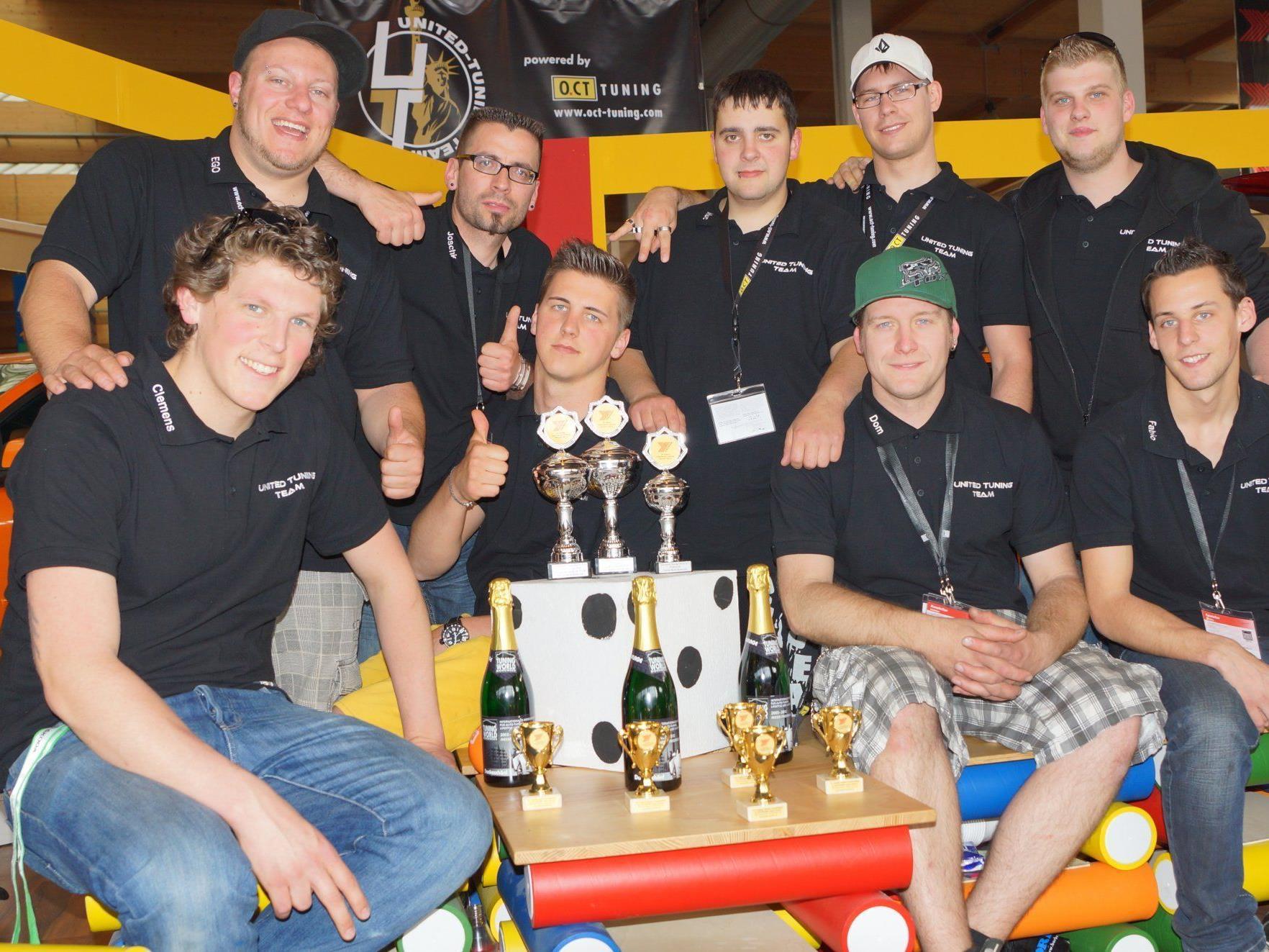 Das United Tuning Team konnte auf der TWB 2012 in Friedrichshafen überzeugen.
