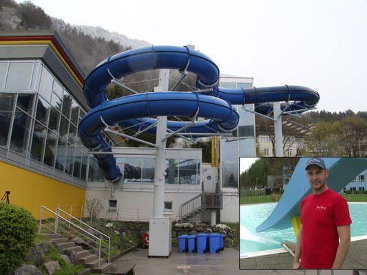 Auch das Alpen-Erlebnisbad Val Blu öffnet bald seine Pforten.