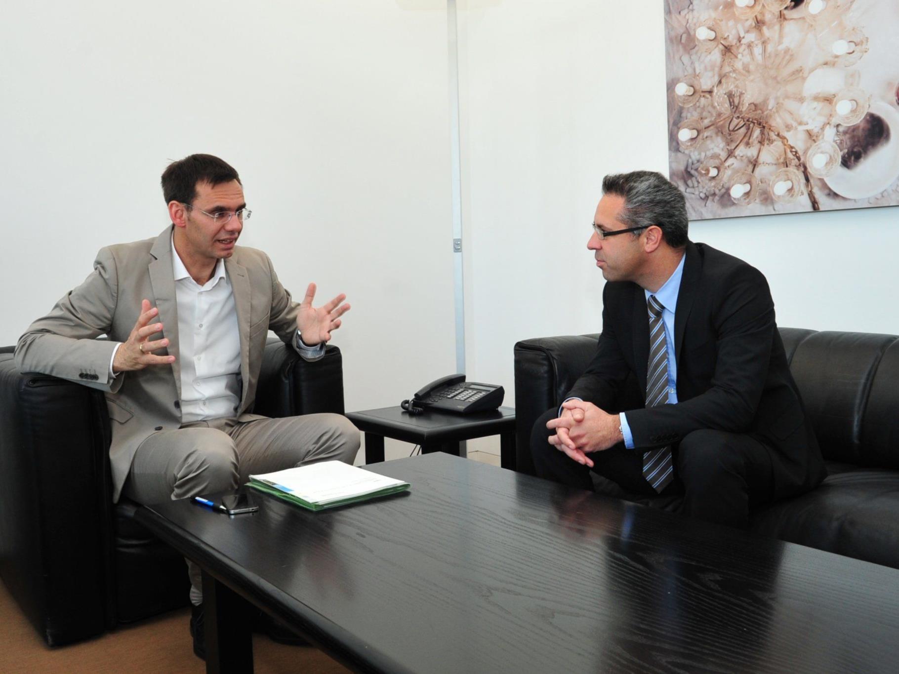LH Wallner im Gespräch mit Markus Hagen