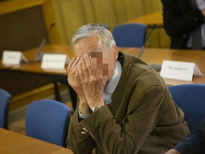 Der pensionierte Gerichtsbeamte Walter M. ließ sich nicht im Geringsten aus der Ruhe bringen.