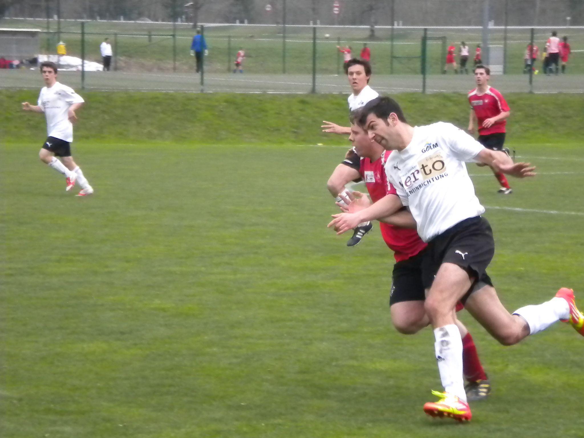 Andreas Engstler erzielte gegen den DSV einen sehenswerten Treffer per Fallrückzieher