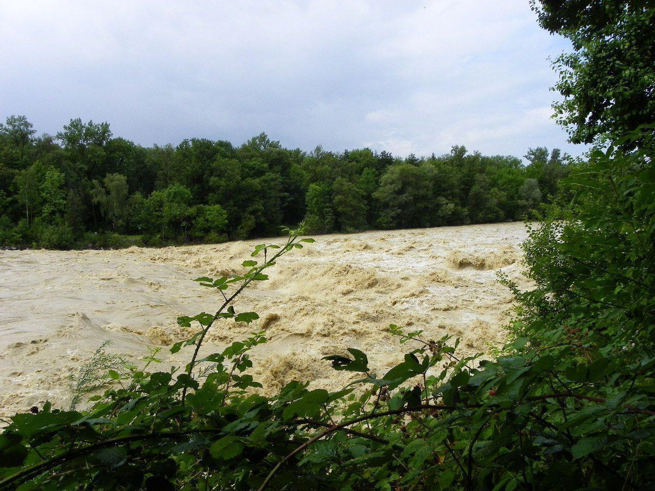 Höhepunkt der Wasserführung