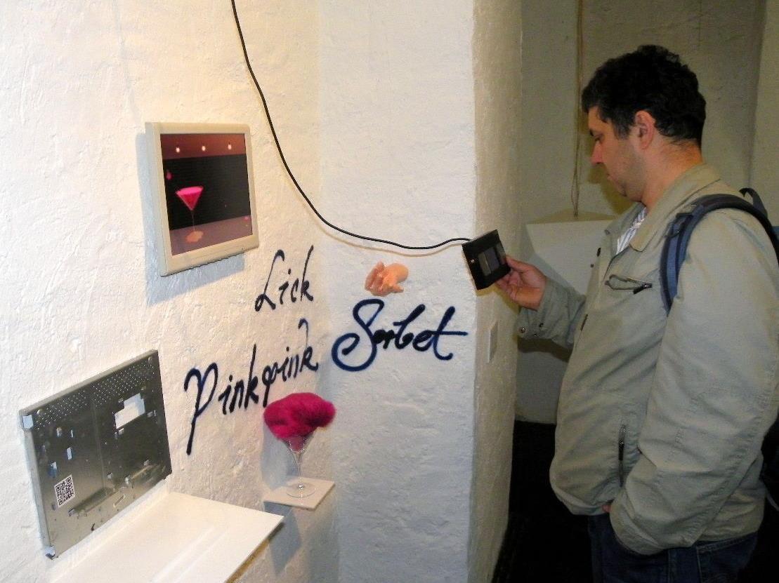 Installation Lick PinkPink Sorbet