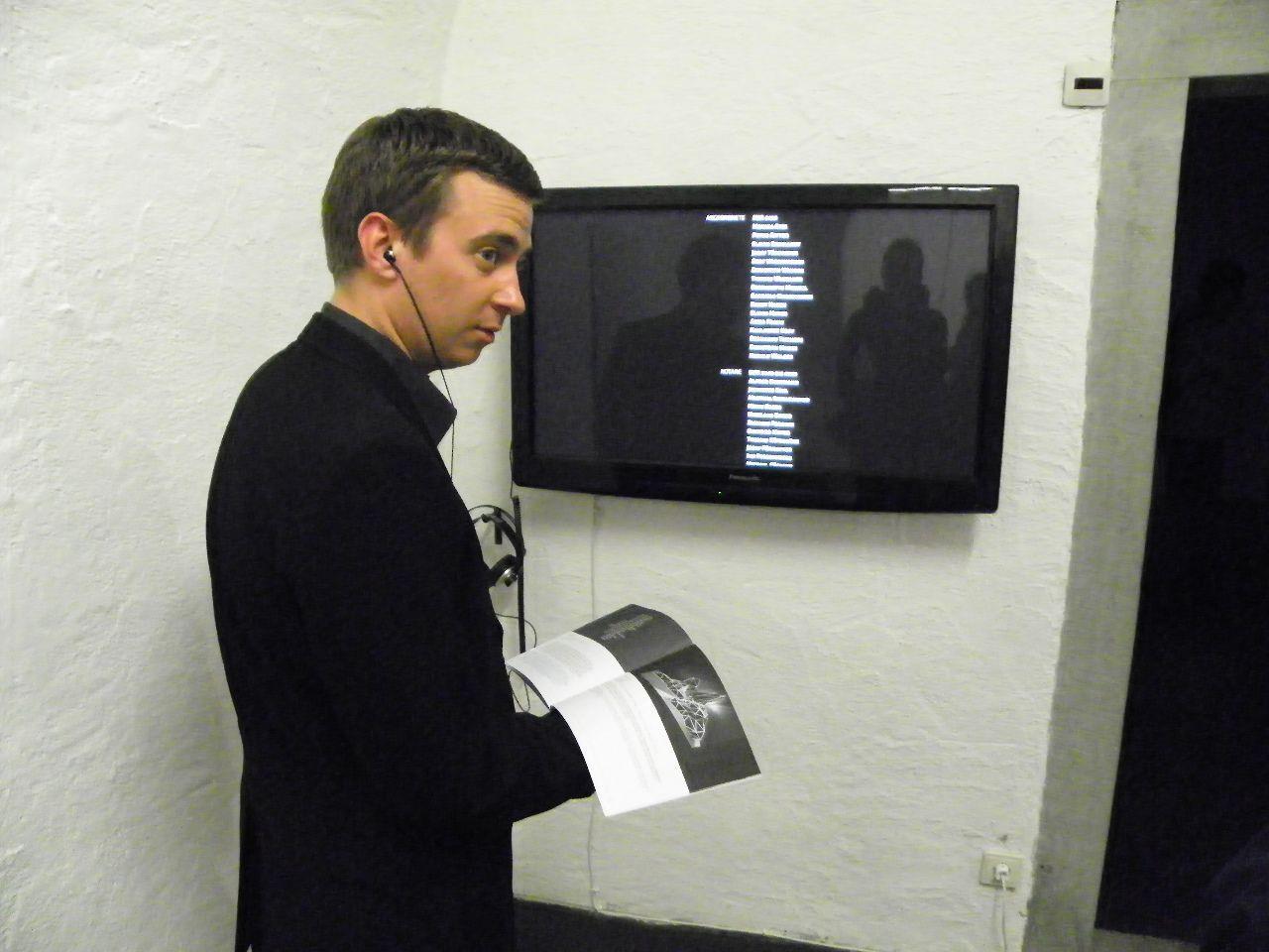Videoinstallation im Künstlerhaus