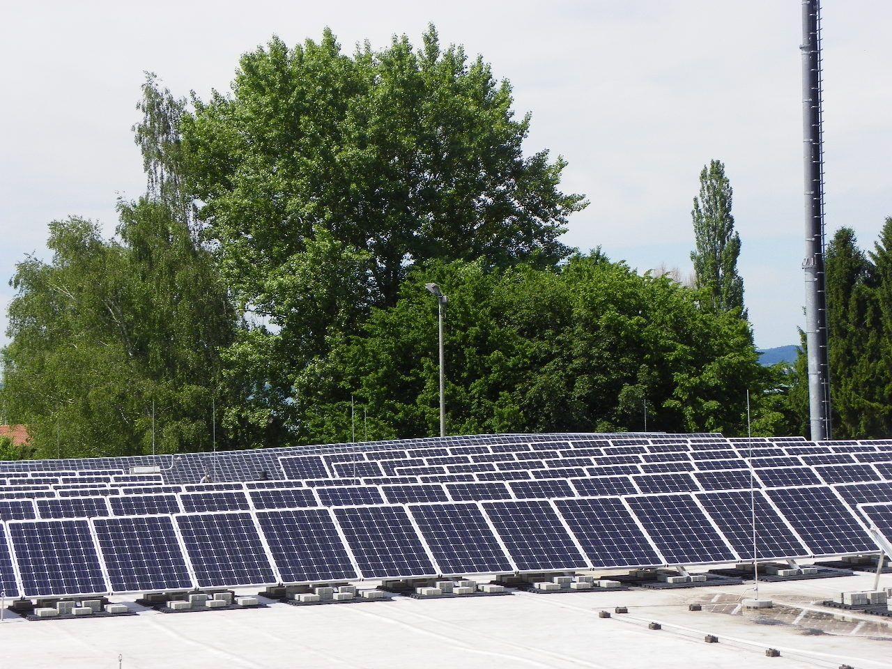 Bürgerkraftwerk auf dem Gelände des Bregenzer Bauhofs