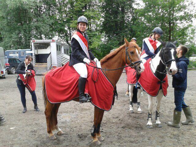 """Landesmeisterin Alessa Leeb mit Ihrem Pony """"Graf Schmidt"""""""