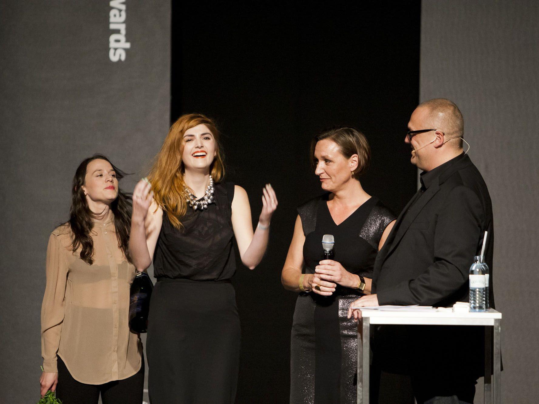 Tina Elisabeth Reiter wurde bei den Austrian Fashion Awards ausgezeichnet.