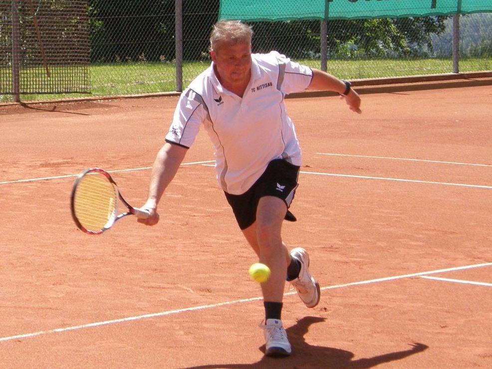 Peter Bechter gewann seine Einzelpartie.