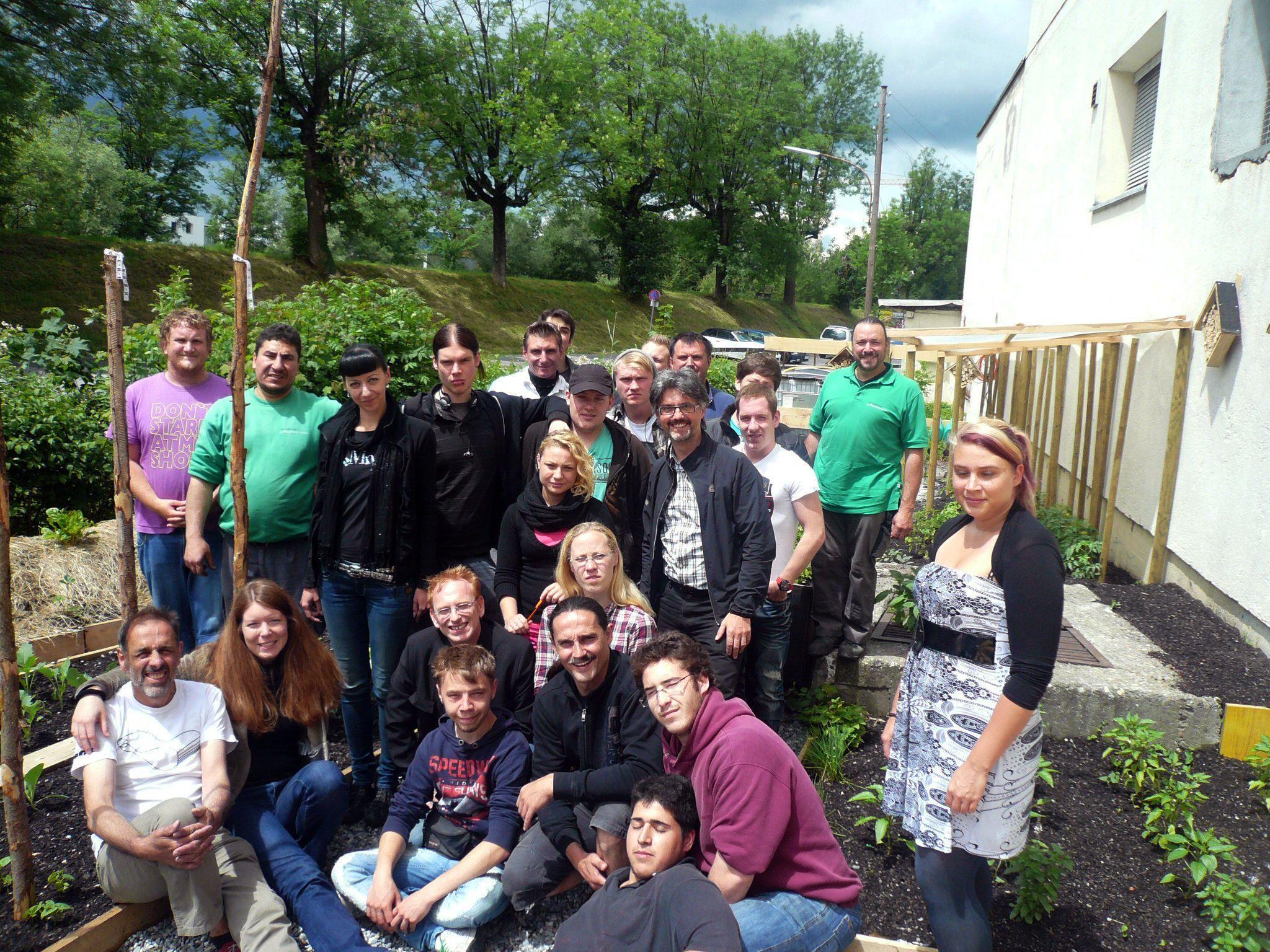 Dreizehn deutsche Jugendliche sammelten im Rahmen des EU-Projektes IDA Arbeitserfahrungen im Ländle.