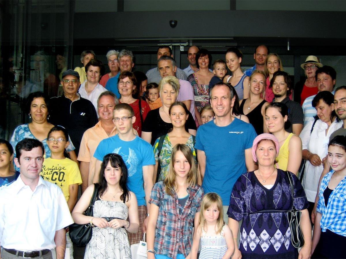 40 neue Bürgerinnen und Bürger fanden sich im Rathaus Rankweil ein, um sich über die Gemeinde zu informieren