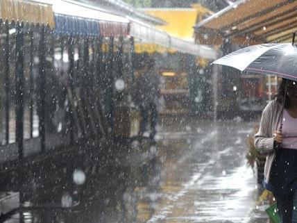 Am Donnerstag kommt endlich Regen nach Wien