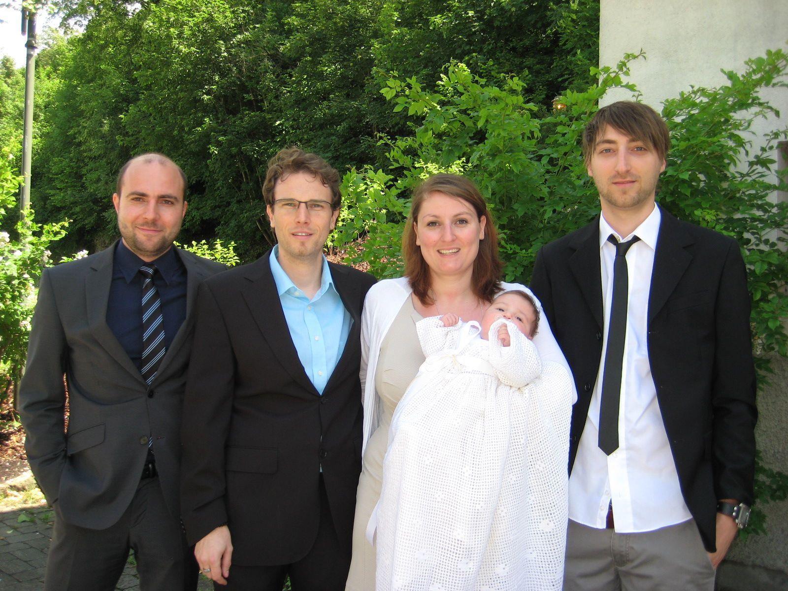 Alena Sophie Wehinger wurde getauft.