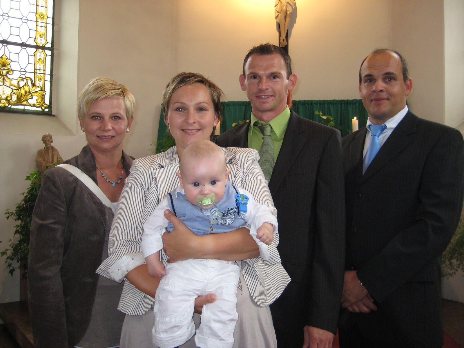 Oliver Giesinger wurde getauft.