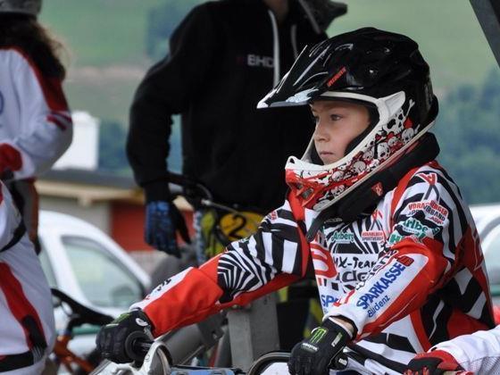Andre Dutczak vom Bludenzer BMX-Sparkassenteam